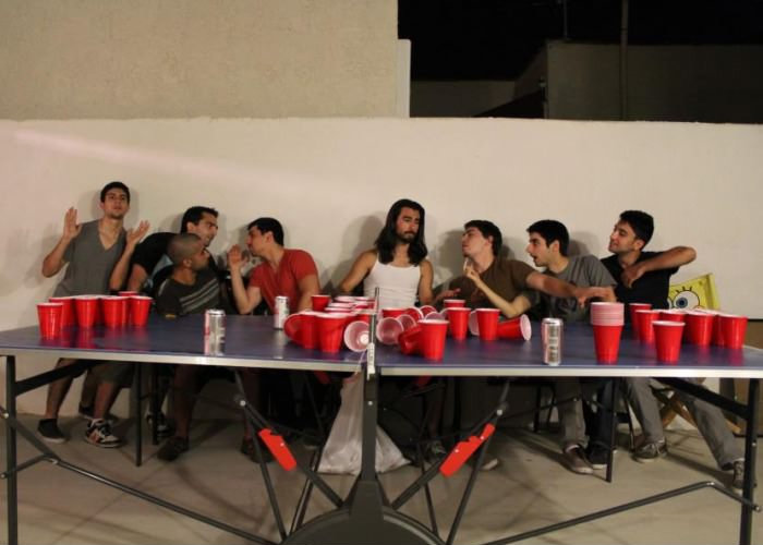 The Last Beer Pong Game. I touch myself at night..