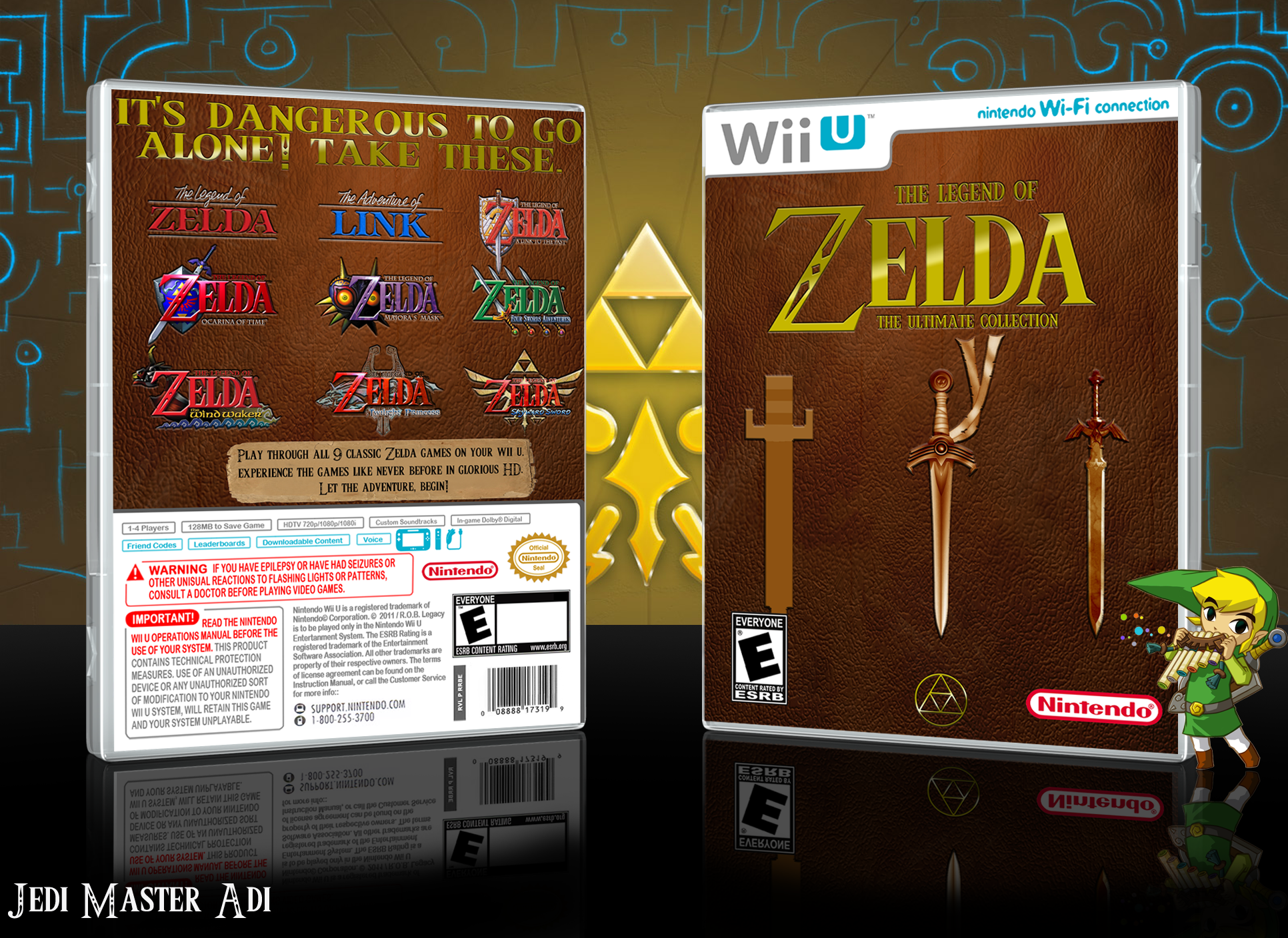 The Legend of Zelda HD collection. no this isn't a real thing. enlarge! source: .. JOYGASM!!!!!!