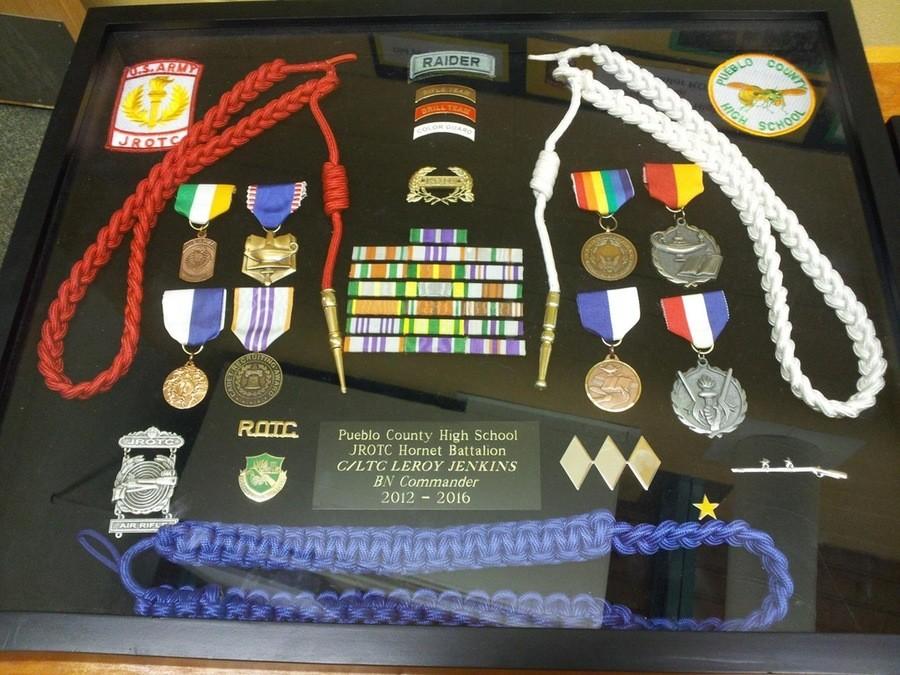The Legend. . tattie . Pueblo County Hugh School JROTC Hornet Battalion CELTIC? LEROY Jes' gr// Commander 2012 - 2016. >>#3, >>#1, Uh guys, you are aware that JROTC means Junior Reserve Officer Training Corps, right? It's a high school program. He probably just gradu