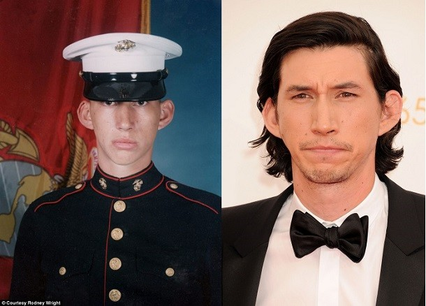 The lesser known history of Adam Driver. Adam Driver joined the Marine Corps shortly after the events of 9/11. He served for two years and eight months until he