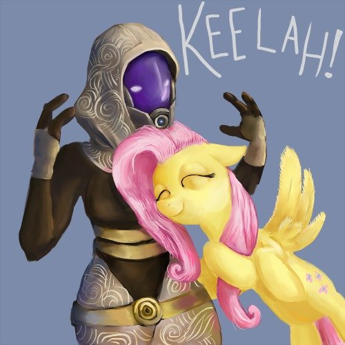 The level of cuteness cannot be describe. I just found this adorable. I give credit to whoever made this.also don't know if repost sorry if it is... Mass Effect thread.