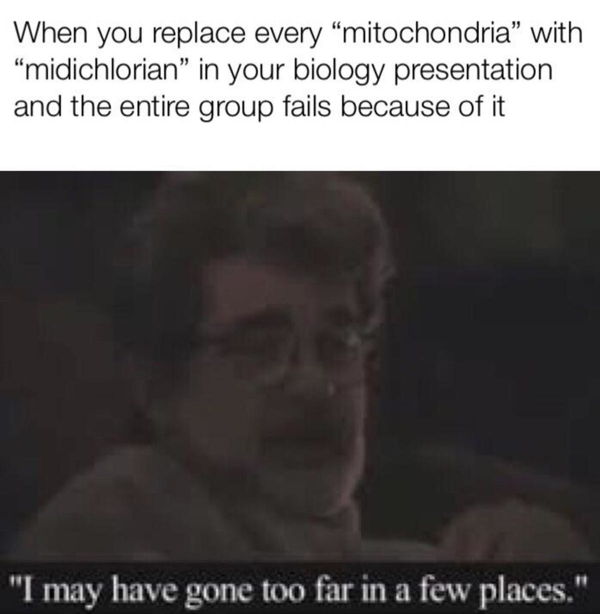 The mitochondria is the powerhouse of the cell. .. THE MITHOCONDRIA IS THE POWERHOUSE OF THE CELL