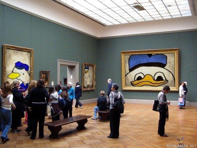 The Modern Art. With love, Helsinki modern art museum..