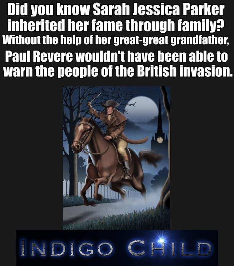 """The More You Know. Her son's role in the new movie War Horse was just spectacular.. Bill Will """"ION Sarah Parker inherited her fame through famile? without the h"""