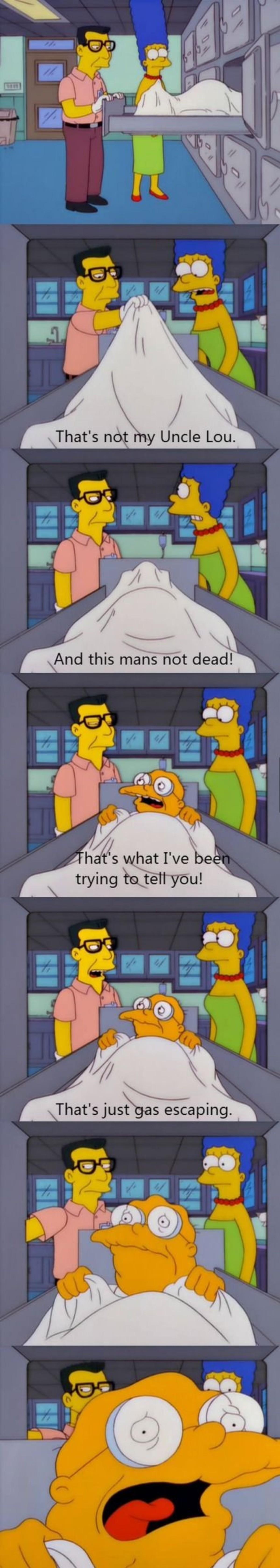 The Morgue. .. Nut.
