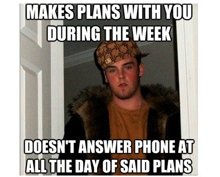 THE most annoying thing. :L. HANS WITH VIII] ANSWER PHONE AT All THE DAY [IE SAID PLAN