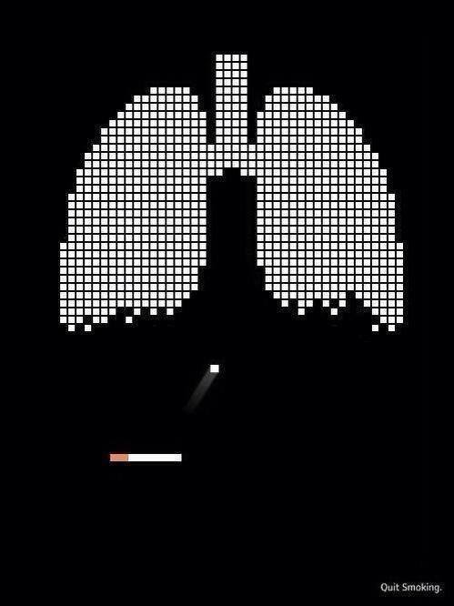 The most clever anti-smoking advertiseme. .. Jokes on YOU faggot, I suck at oldschool video games in general! I'm gonna stuff 50 cigs in my mouth and remain immortal! I can't hit a damn brick even if my li