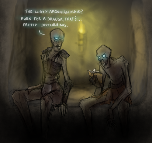 The Most Memorable Book in Tamriel.. .. Argonian porn is the best porn