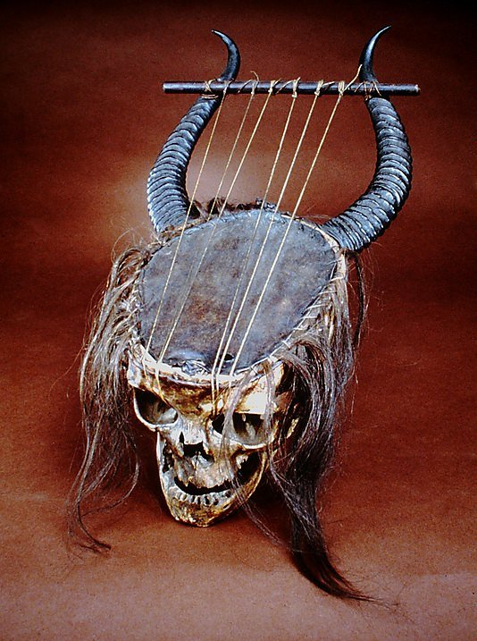 The most metal lyre ever. .
