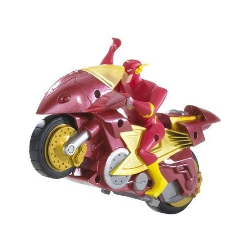 The most useless super hero accessory. words cannot describe the stupidity.. What if the motorbike was faster than Flash?