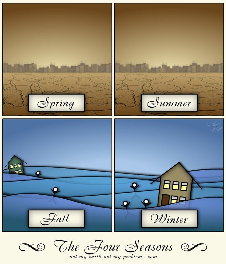 The New Four Seasons. for EarthsHott.com.