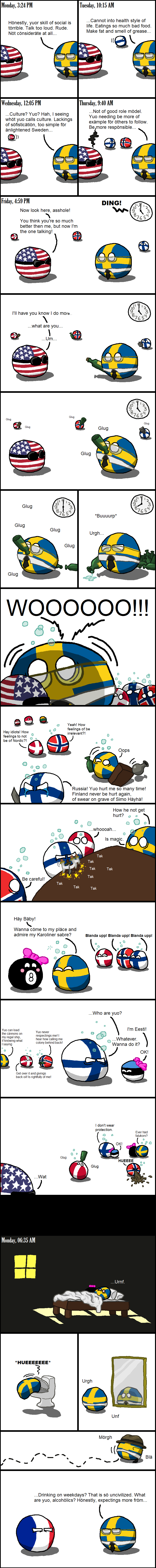 the Nordic model. Not made by me, found on the polandball subreddit.. Monday, 321 M Honestly, yuor skill of social is terrible. Talk too loud. Rude. Not conside