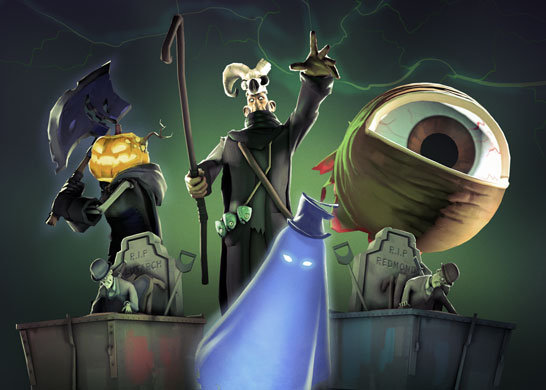 The spookening is upon us!. All Five Scream Fortress Updates Now Playable!.