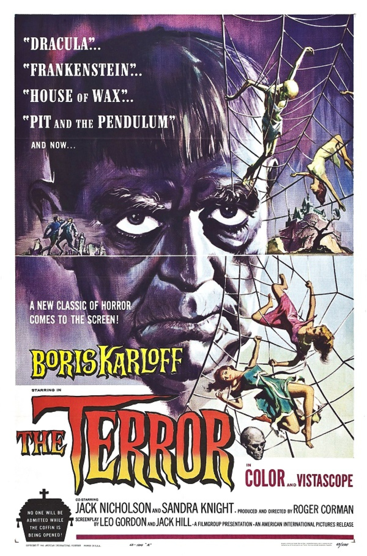 """The terror review.. Intro Aw we're going old school boys. This movie actually has a rather interesting history, after filming the 1963 movie """"The Raven,"""" a few"""