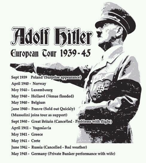 The third reich tour. . liar April 1910 - Norway May 1948 - Luxembourg Mar 15: - Hailed Finn flooded, May 1940 - Belgium . Mussolini joins tea: as ' . _ . Sept