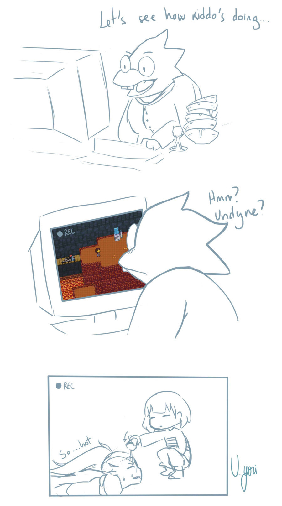 The Thirst Is Real !. .. This post is Dedicated to buttlumps pls stop posting Alphys/Sans stuff it's a Bad Ship