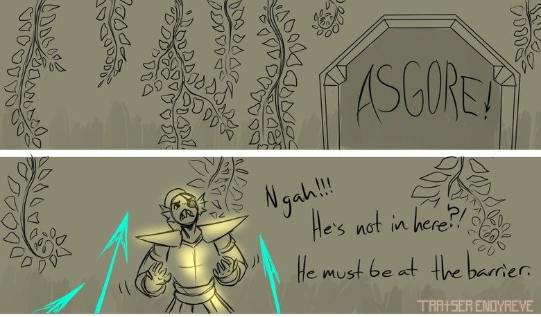 The Thought Part 9. I claim NO ownership, the comic belongs to Tratser tratserenoyreve.tumblr.com/ Part 1 & 2: Part 8: Part 10: .. What did Sans turn into even?