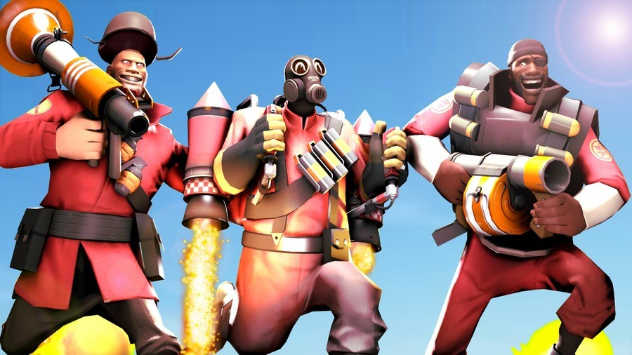 the three flying mercenaries. .