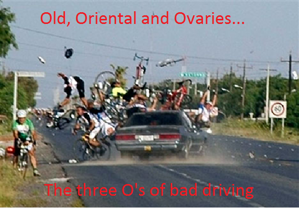 The Three O's. It's always one, sometimes all three..