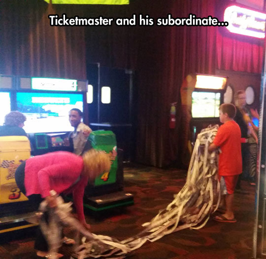 The Tickermaster. The Tickermaster . Ticketmaster and his .. §