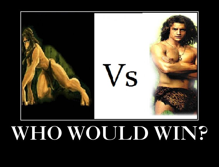 The True King of the Jungle?. . Ni/ ) WOULD WIN 'P. george would hit a tree and it would be over