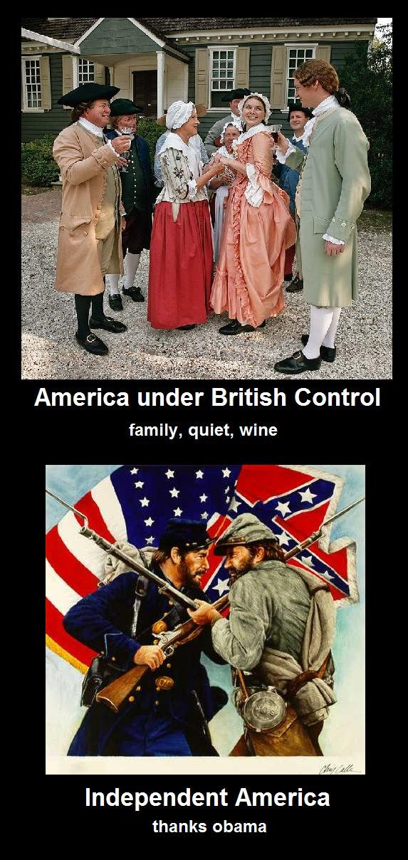 """The truth. God save the queen.. viii"""" ' miimii 'ericii' ii;'; family, quiet, wine Independent America thanks obama. why are they all having wine and class and outside the house..."""