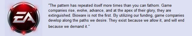 the truth. the biggest plot twist in the me series ever not oc, found on bioware forums. The pattern has repeated itself more times than you can fathom- Game co