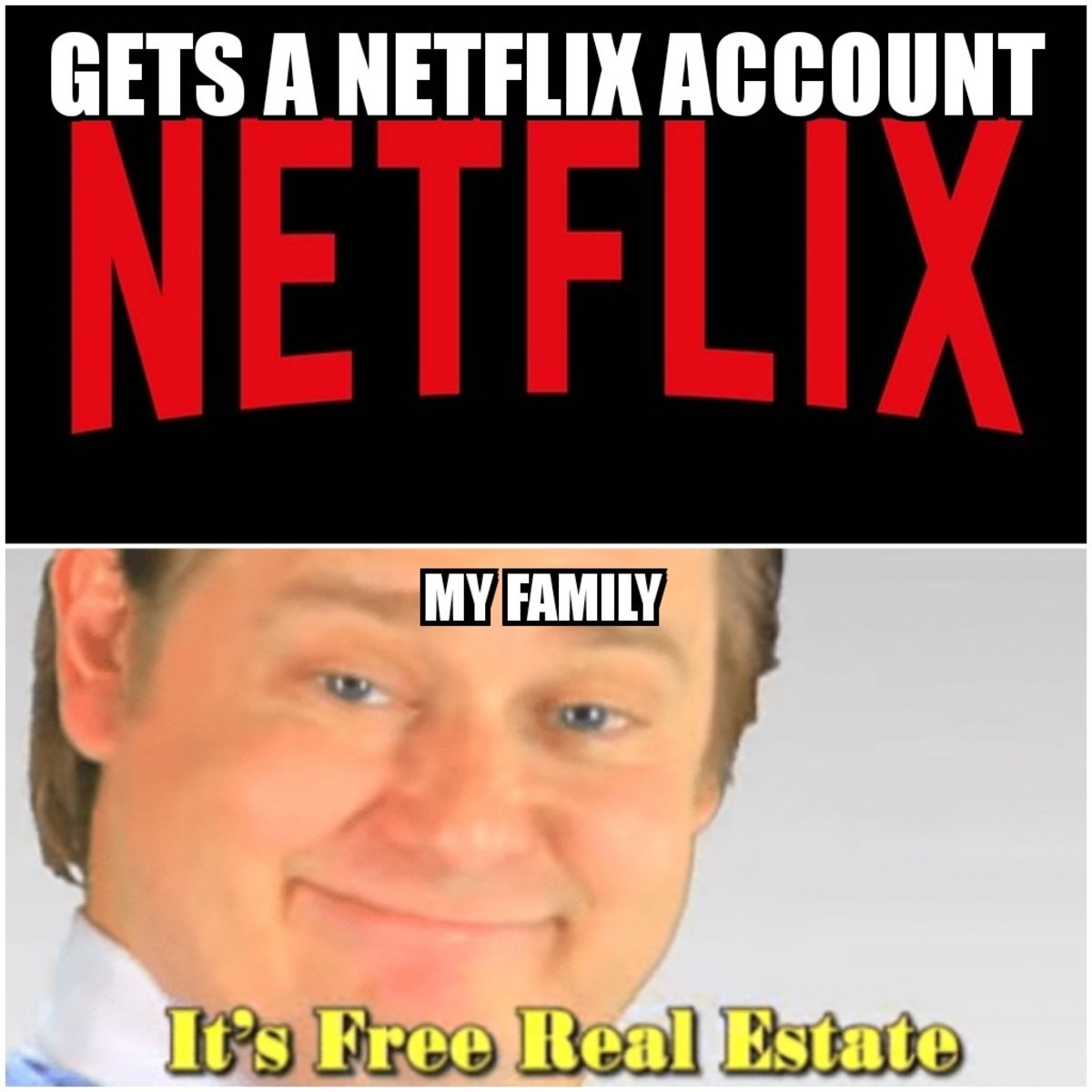 The Truth. . GETS A. I have Netflix, Hulu, and HBO and pay for none of it. Got passwords from parents, brother, and work friend