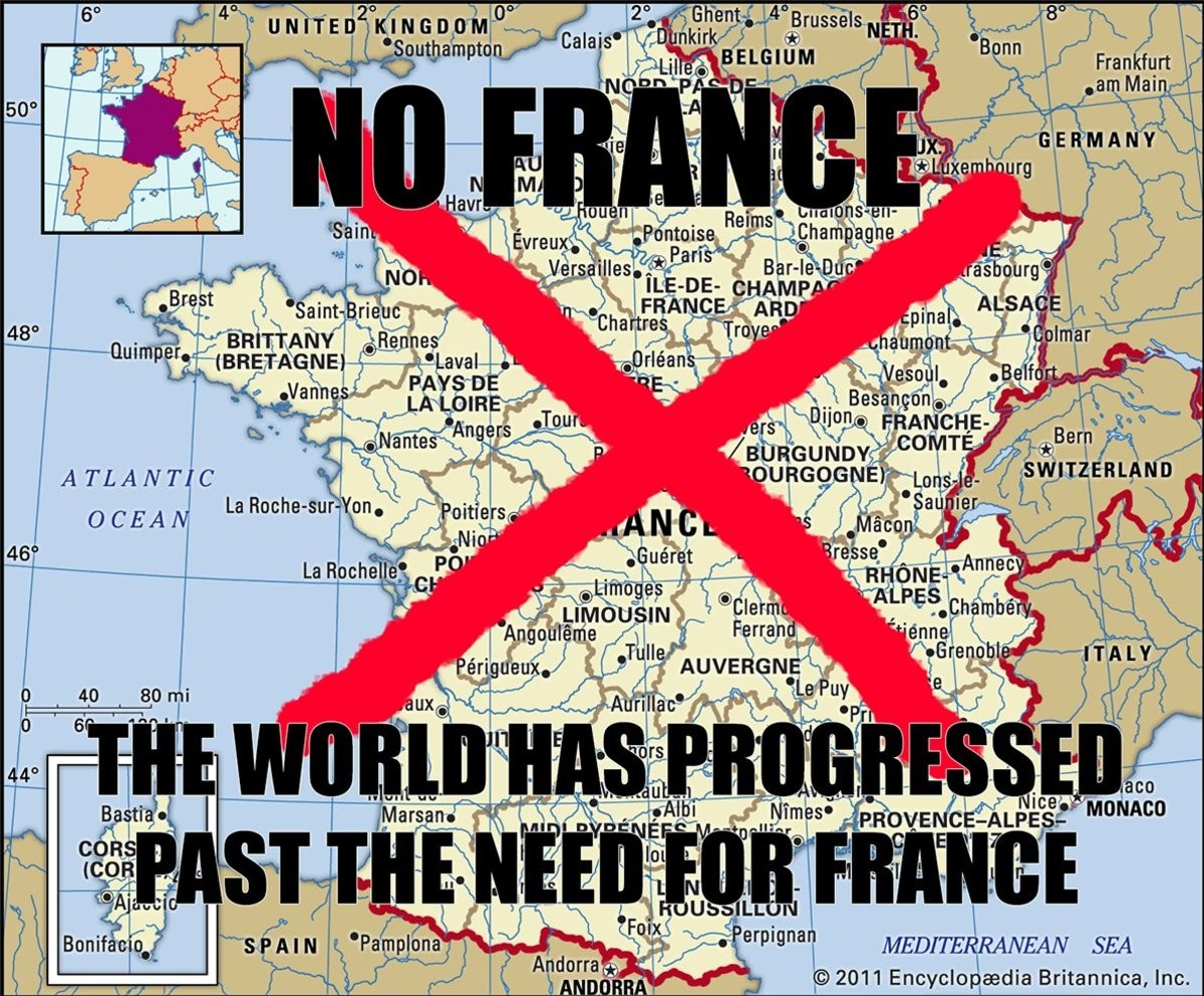 The Truth. .. you I love France