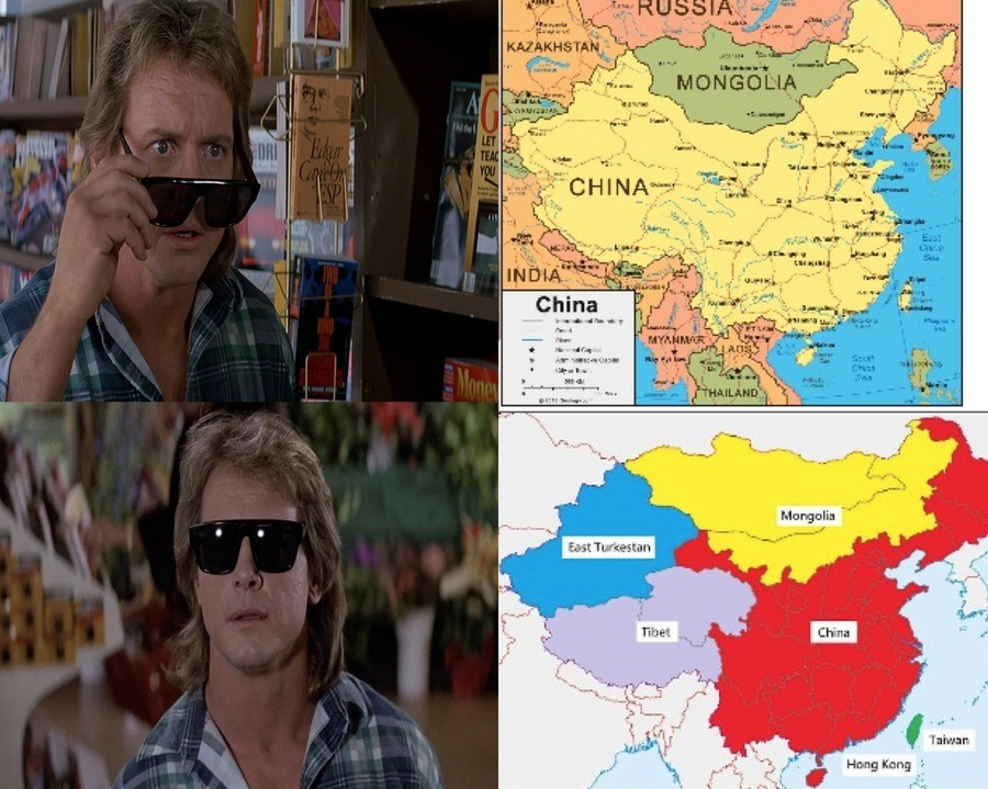 The truth. .. breaking up china would be the greatest thing to happen to both the east and the west
