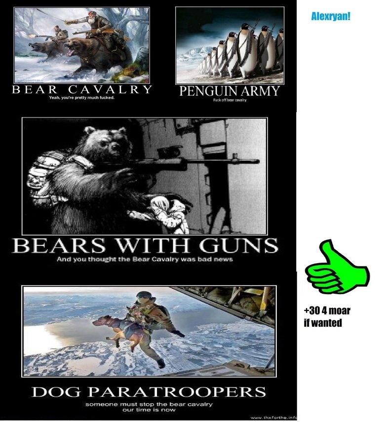 The bears. they must be stopped!.. wwwwhhhhhhhhhhoooooooaaaaaaaaa WHERE HALF WAY THERE WWWWWWWWHHHHHOOOOOOOOAAAAAAA LIVIN ON A PRAYER!!!