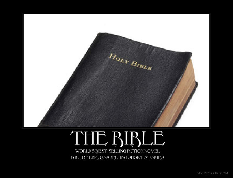 The Bible. It has got wonderful reviews.. How would you know it's fiction? you have never read it! that's like me calling your mom a whore though I have never her!(thank god).