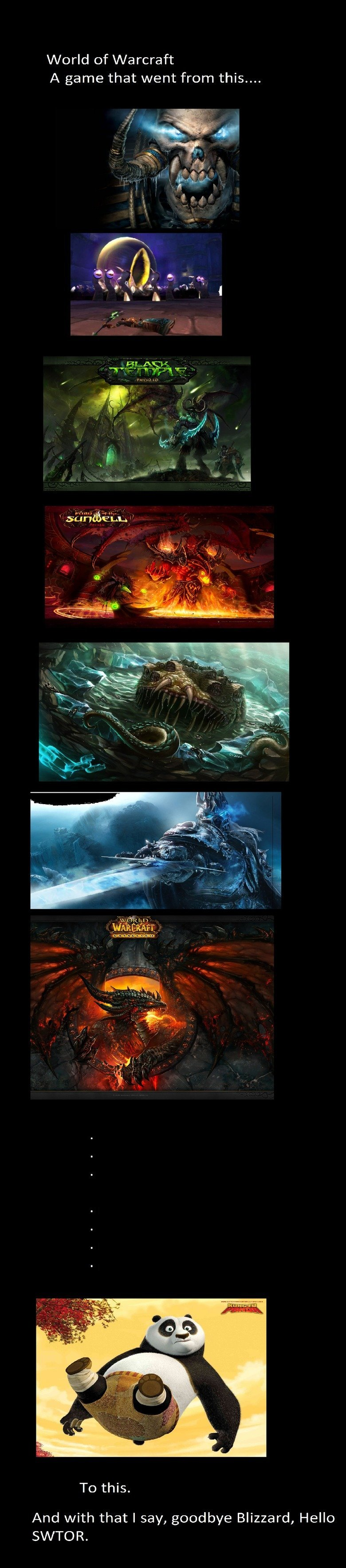 The Mists of Pandaria. I've been playing non-stop since 2005 through think and thin, from Onyxia to The Lich King to the madness of Yogg-Saron and C'thun to the