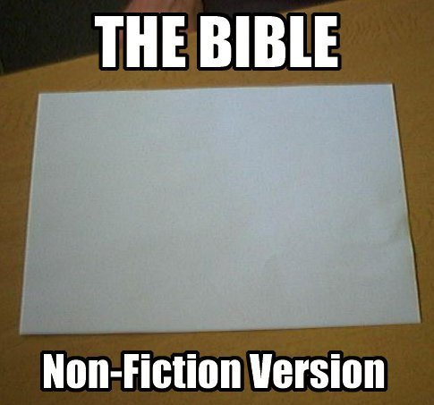 The Bible. .. or, a popular mens magaizne without photoshop