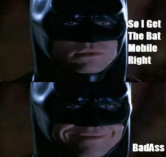 The BatMan. . The Bat labile tight