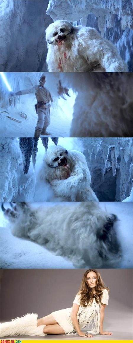 The latest in Europe. .. Wampas are Yeti-like creatures that live on the sixth planet of the Hoth system. Wampas' hands have five fingers, each with one large claw. They also have a hor