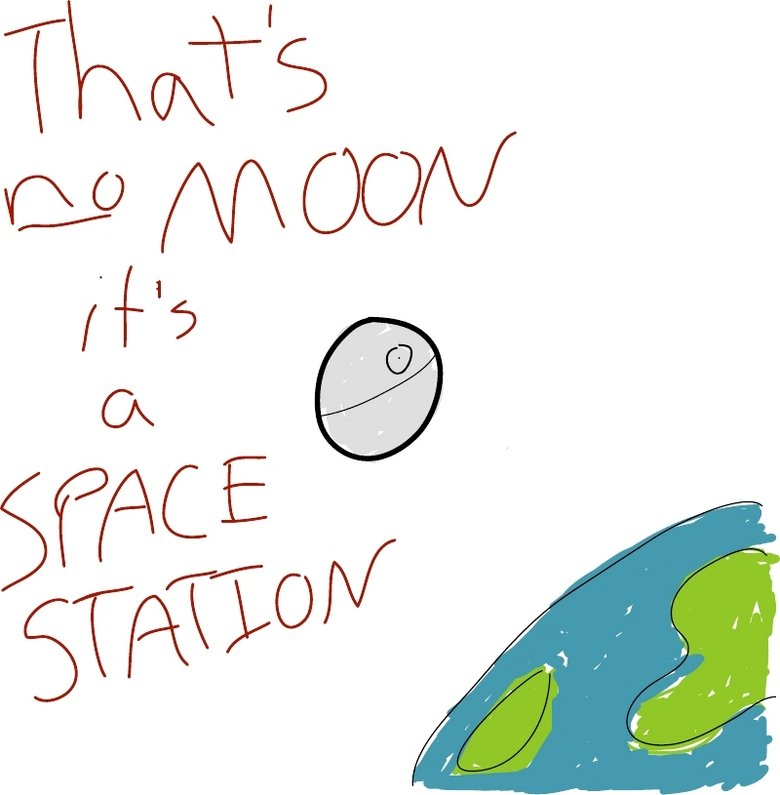 The Moon. .. lol, i thought it was a up pokeball at first