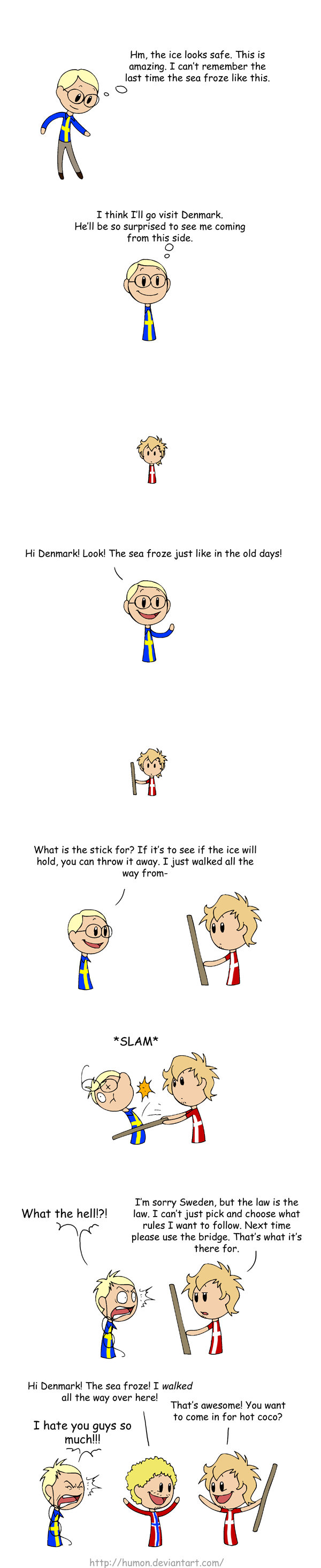 The Law is the Law. A comic by Humon.<br /> I hope this isn't a repost. I'm sorry if it is in advance.<br /> Here's what she said about it:<br /&