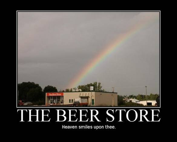 The Beer Store. .. It's called a packie (When you're from the north east)