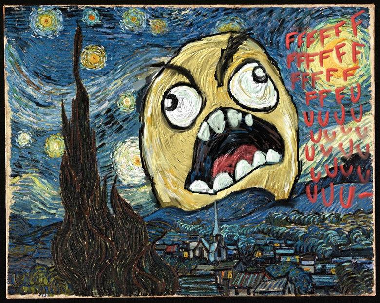 The Art of Ffffuuuuu. Ha ha ha haa... i dont get it.