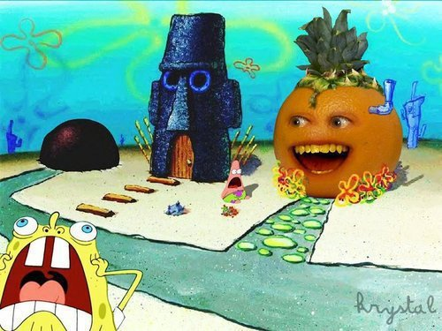 "THE ANNOYING HOUSE. of spongebob............<br /> rage --> <a href=""pictures/565885/doraemon+rage/"" target=blank>funnyjunk.com/fun"
