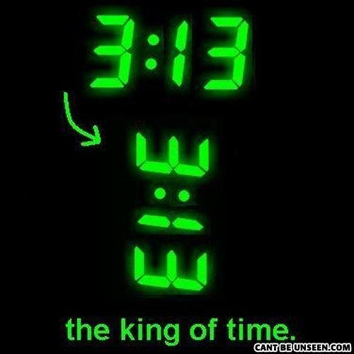 The King Of time. He is real!. the king of time.. the king of time has BOOBS!?!?!