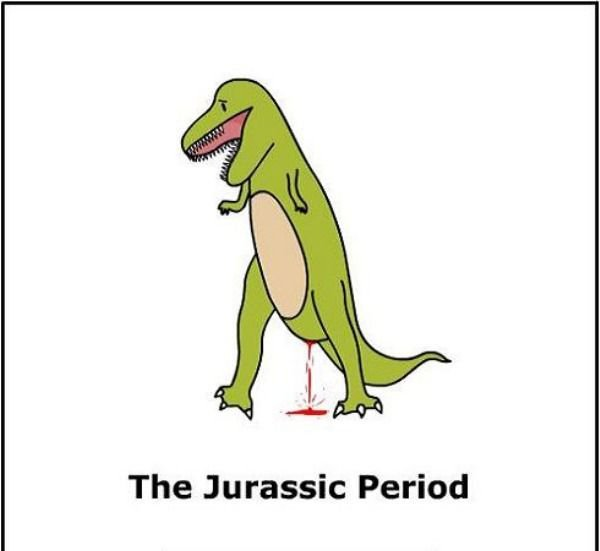 The Jurassic Period. Oh...The pun..... The Jurassic Period