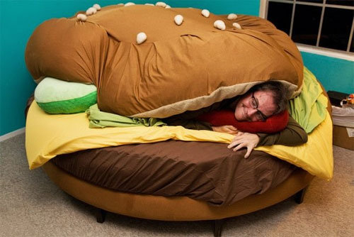 The most awesome bed 1. awesome bed.. Is that the dude who plays Spongebobs voice?