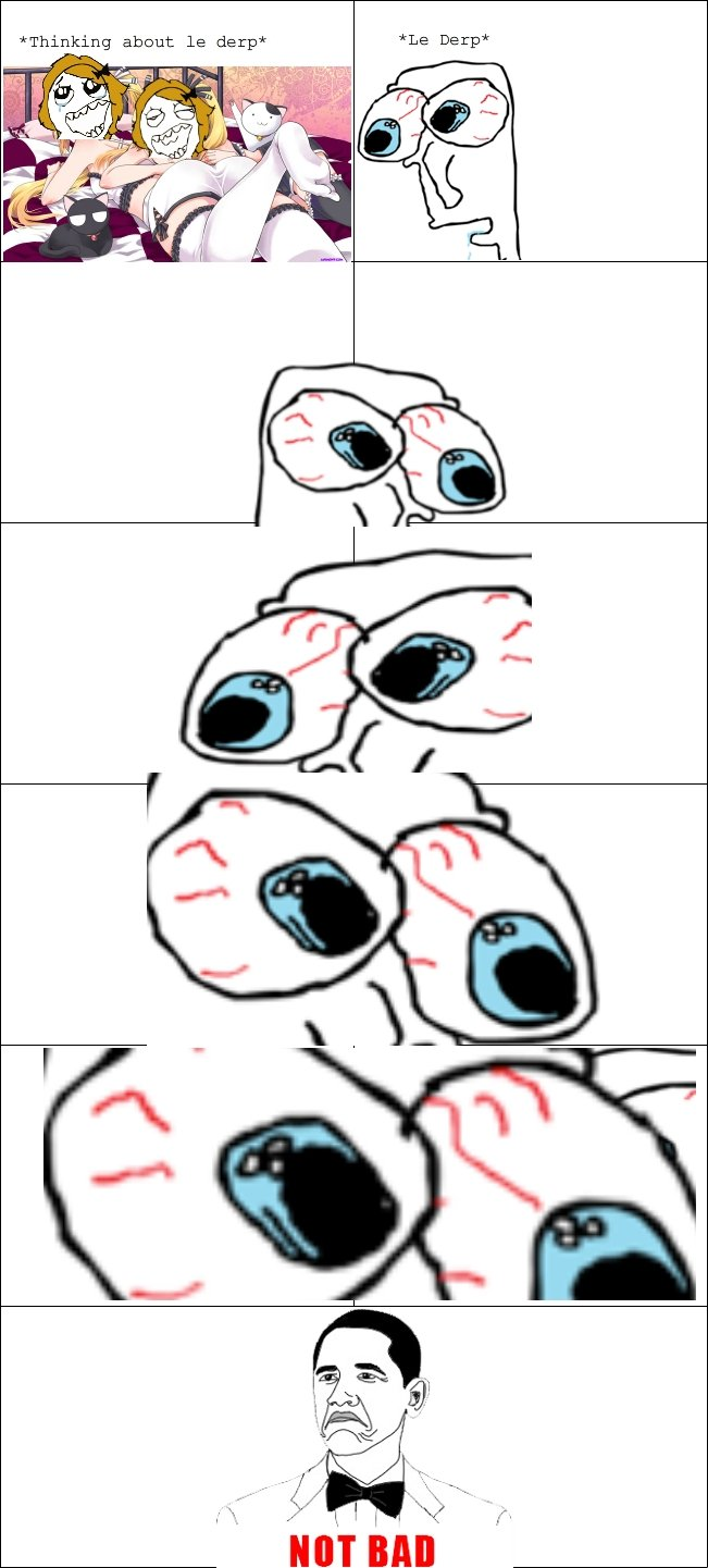 The Junky Anime Rage. Tear apart this fine rage comic. Thumbs down accepted.. Thinking about 13 derp