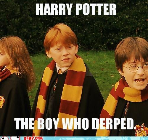 the Boy who Derped.. credits to derp.com. HARRY