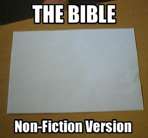 the bible. . THE. Why i oughta........