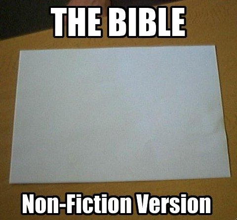 The Bible. ..  ▲ ▲ ▲