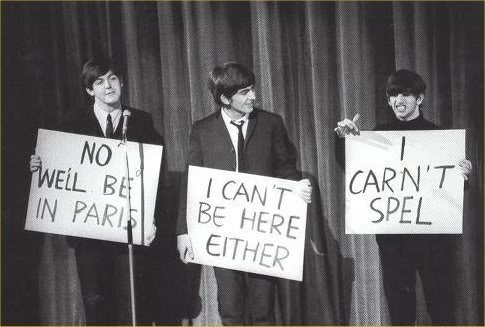 THE BEATLES. .. Anybody notice that the Beatles are dying in order of talent? John went first, then George, so Paul's bound to be next. Ringo's going to be around for a loooooo