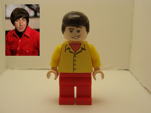 The Big Bang theory lego wolowitz. Recognized.. do moar